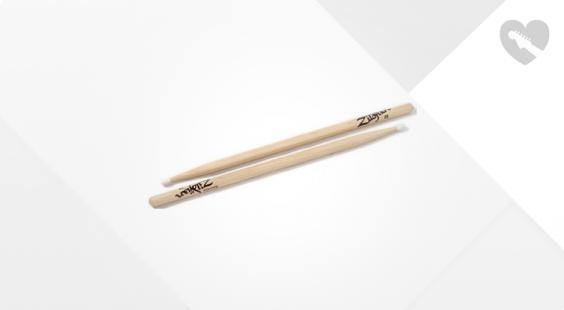 Full preview of Zildjian 2BN Hickory Sticks -Nylon Tip