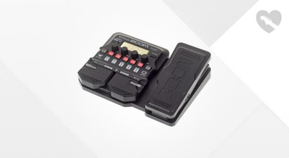 Full preview of Zoom G1X Four Multi Effect-Pedal