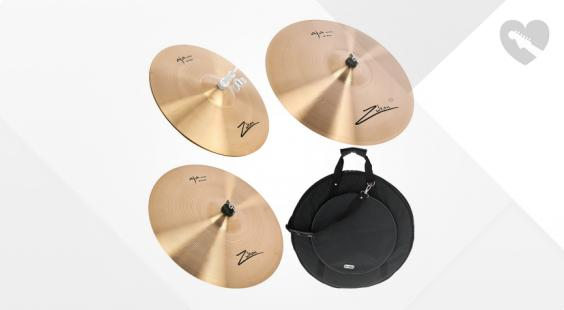 Full preview of Zultan Aja Standard Cymbal Bundle