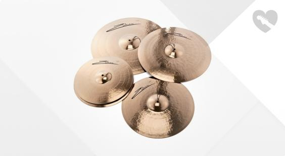 Full preview of Zultan Rock Beat Profi Cymbalset
