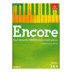 Is ABRSM Publishing Encore Book 2 Grades 3&4 Piano a good match for you?