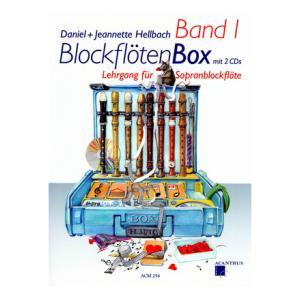 Is Acanthus Music BlockflötenBox 1 +CDs a good match for you?