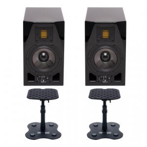 Is Adam A5X Glossy Black DM3 Bundle a good match for you?