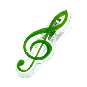 """Take the """"IS IT GOOD FOR ME"""" test for """"agifty Music Clip Violin Clef Green"""", read the reviews and join the community!"""