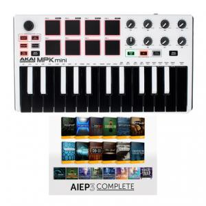 Is Akai MPK mini MK2 white - AIEP3 Bdl a good match for you?
