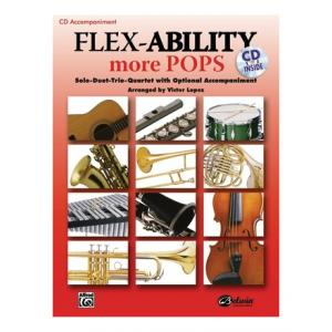 """Take the """"IS IT GOOD FOR ME"""" test for """"Alfred Music Publishing Flex-Ability More Pops CD"""", read the reviews and join the community!"""