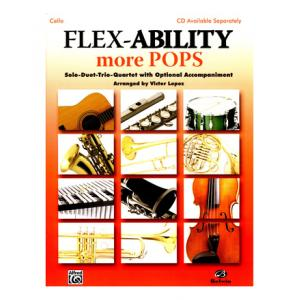 """Take the """"IS IT GOOD FOR ME"""" test for """"Alfred Music Publishing Flex-Ability More Pops Cello"""", read the reviews and join the community!"""
