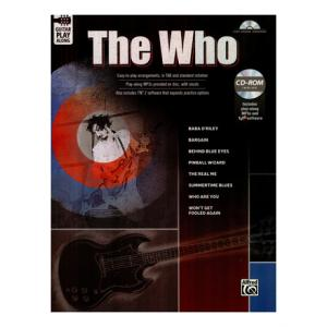 Is Alfred Music Publishing Guitar Play Along: The Who a good match for you?