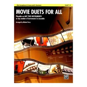 Is Alfred Music Publishing Movie Duets For All Alto Sax a good match for you?