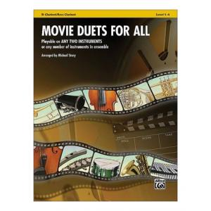 Is Alfred Music Publishing Movie Duets For All Clarinet a good match for you?