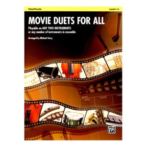 Is Alfred Music Publishing Movie Duets For All Flute a good match for you?