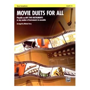 Is Alfred Music Publishing Movie Duets For All Tenor Sax a good match for you?