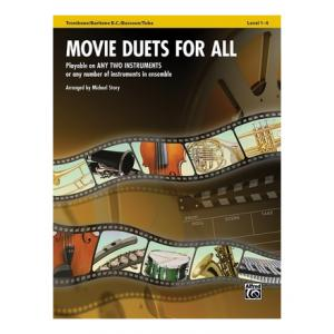 Is Alfred Music Publishing Movie Duets For All Trombone a good match for you?