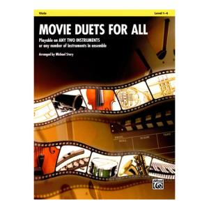 Is Alfred Music Publishing Movie Duets For All Viola a good match for you?