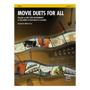 Is Alfred Music Publishing Movie Duets For All Violin a good match for you?