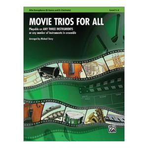 "Take the ""IS IT GOOD FOR ME"" test for ""Alfred Music Publishing Movie Trios For All Alto Sax"", read the reviews and join the community!"