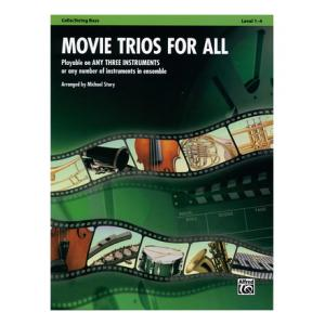 Is Alfred Music Publishing Movie Trios For All Cello/Bass a good match for you?