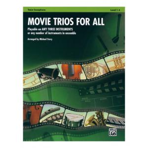 "Take the ""IS IT GOOD FOR ME"" test for ""Alfred Music Publishing Movie Trios For All Tenor Sax"", read the reviews and join the community!"