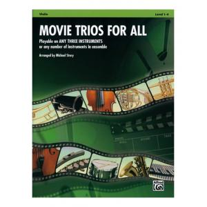 "Take the ""IS IT GOOD FOR ME"" test for ""Alfred Music Publishing Movie Trios For All Violin"", read the reviews and join the community!"