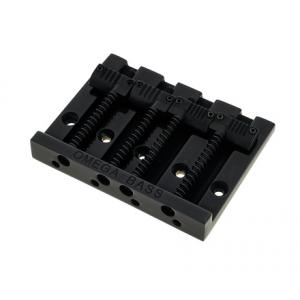 Is Allparts Omega Bass Bridge 4 Grooved BK a good match for you?