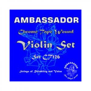 Is Ambassador Violin Chrome Tape Strings a good match for you?