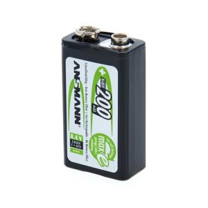 Is Ansmann maxE 9V Rechargeable 200mAh a good match for you?