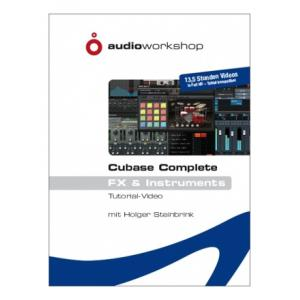 Is Audio Workshop Cubase Complete FX & Inst. DVD a good match for you?