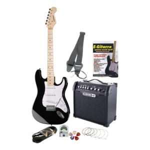 Is C.Giant S-Model E-Guitar MN BK/ Set 3 a good match for you?
