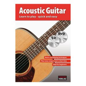 """Take the """"IS IT GOOD FOR ME"""" test for """"Cascha Verlag Acoustic Guitar Learn To Play"""", read the reviews and join the community!"""