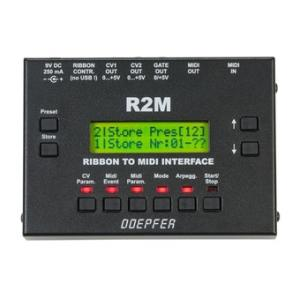 "Take the ""IS IT GOOD FOR ME"" test for ""Doepfer R2M V2 MIDI Ribbon Controller"", read the reviews and join the community!"
