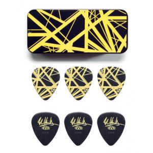 Is Dunlop EVH Black/Yellow Stripes Tin 6 a good match for you?