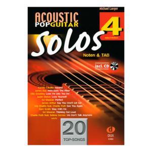 Is Edition Dux Acoustic Pop Guitar Solos 4 a good match for you?