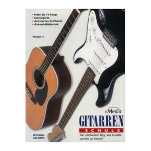 Is EMedia Music Corp. Gitarrenschule 1 (CD-Rom) a good match for you?