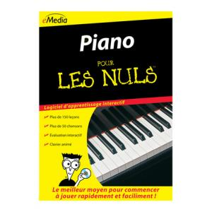 """Take the """"IS IT GOOD FOR ME"""" test for """"Emedia Piano pour les Nuls - Win"""", read the reviews and join the community!"""