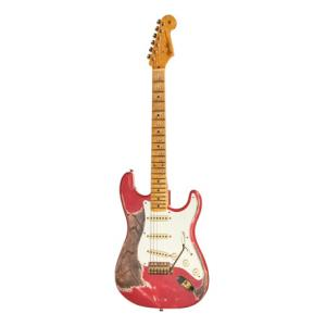 """Take the """"IS IT GOOD FOR ME"""" test for """"Fender 58 Strat Fiesta Red Relic MBGF"""", read the reviews and join the community!"""