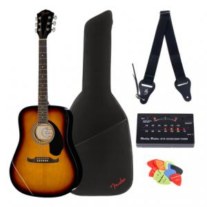 Is Fender FA-125 Sunburst Bundle a good match for you?