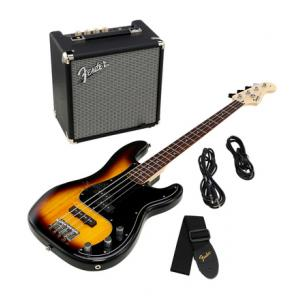 """Take the """"IS IT GOOD FOR ME"""" test for """"Fender SQ Affinity PJ Bass Pack BSB"""", read the reviews and join the community!"""