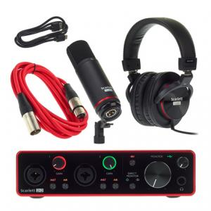 Is Focusrite Scarlett 2i2 Studio 3r B-Stock a good match for you?