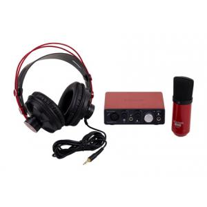 Is Focusrite Scarlett Solo Studio Pack a good match for you?