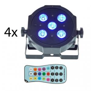 Is Fun Generation SePar Quad LED RGB UV Bundle 4 a good match for you?