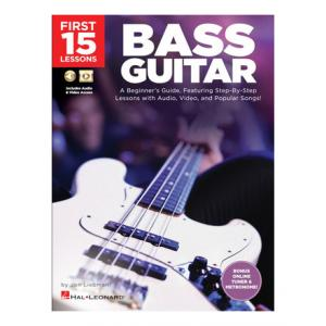 """Take the """"IS IT GOOD FOR ME"""" test for """"Hal Leonard 15 Lessons: Bass Guitar"""", read the reviews and join the community!"""