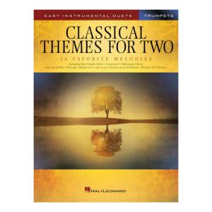 """Take the """"IS IT GOOD FOR ME"""" test for """"Hal Leonard Classical Themes Two Trumpets"""", read the reviews and join the community!"""