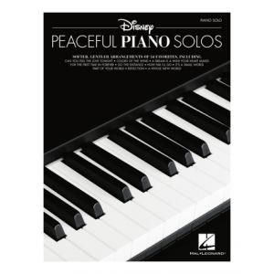 "Take the ""IS IT GOOD FOR ME"" test for ""Hal Leonard Disney Peaceful Piano Solos"", read the reviews and join the community!"