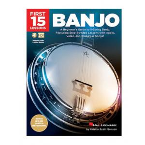 """Take the """"IS IT GOOD FOR ME"""" test for """"Hal Leonard First 15 Lessons: Banjo"""", read the reviews and join the community!"""
