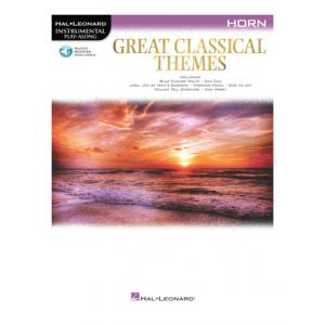 "Take the ""IS IT GOOD FOR ME"" test for ""Hal Leonard Great Classical Themes Horn"", read the reviews and join the community!"