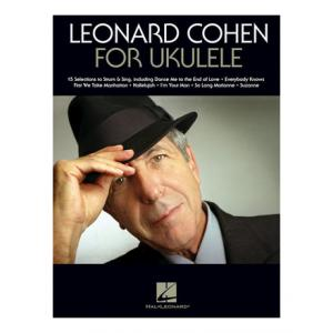 """Take the """"IS IT GOOD FOR ME"""" test for """"Hal Leonard Leonard Cohen for Ukulele"""", read the reviews and join the community!"""