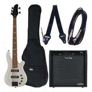 """Take the """"IS IT GOOD FOR ME"""" test for """"Harley Benton B-550 White Progressive Set 2"""", read the reviews and join the community!"""