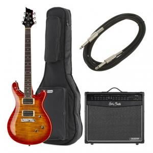 Is Harley Benton CST-24 Paradise Flame Bundle a good match for you?