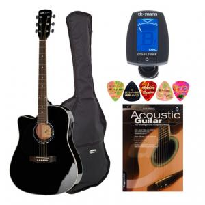 """Take the """"IS IT GOOD FOR ME"""" test for """"Harley Benton D-120CE-LH BK Bundle"""", read the reviews and join the community!"""