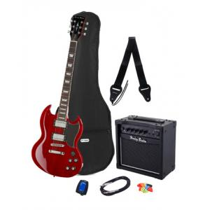 Is Harley Benton DC-580 CH Vintage Serie Bundle a good match for you?